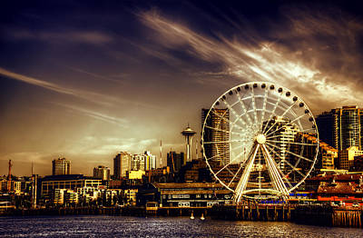 Photograph - The Emerald City by Spencer McDonald