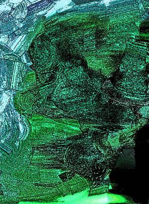 The Emerald Cliff Art Print
