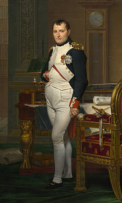 The Emperor Napoleon In His Study Art Print by Mountain Dreams