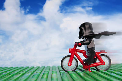 Lego Photograph - The Emperor's New Bike by Samuel Whitton