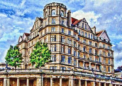 Photograph - The Empire Hotel Bath by Paul Gulliver