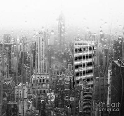 The Empire In The Rain Art Print by Alice Gardoni