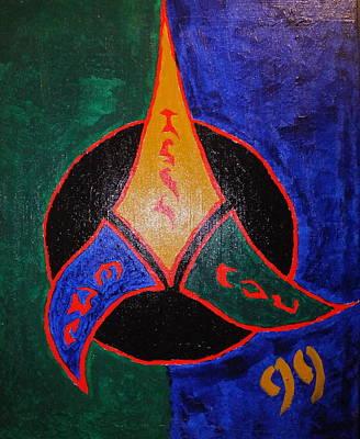 Klingon Wall Art - Painting - The Empire by Jeff Harris