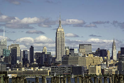 Photograph - The Empire State Building 2 by Jatinkumar Thakkar