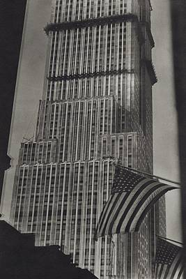 Photograph - The Empire State Building In New York City by Sherril Schell