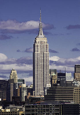 Photograph - The Empire State Building by Jatinkumar Thakkar
