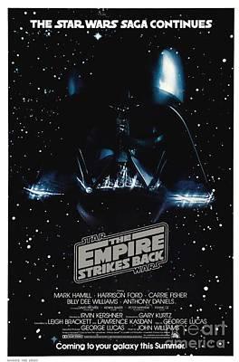 Back Mixed Media - The Empire Stikes Back by Baltzgar