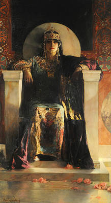 The Empress Theodora Art Print