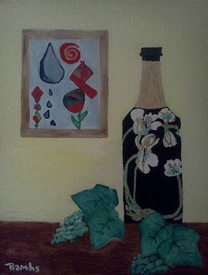 The Empty Bottle Art Print by Bamhs Blair