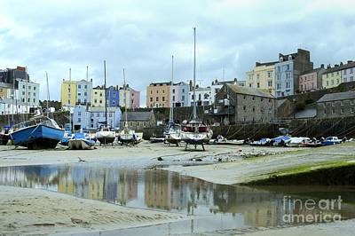 Photograph - The Empty Harbour by Wendy Wilton