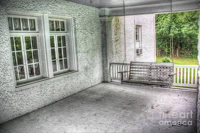 The Empty Porch Swing Art Print