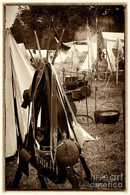 Photograph - The Encampment by Paul W Faust -  Impressions of Light
