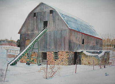 The Enchanted Barn Art Print