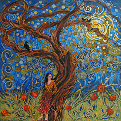 Painting - The Enchanted Dream by Gina Grundemann