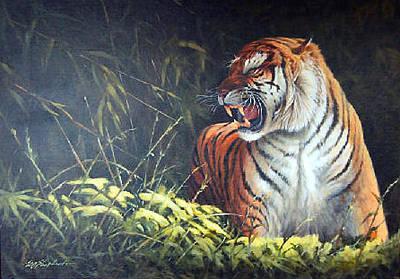 Eric Shepherd Painting - The Encounter by Eric Shepherd