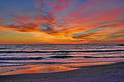 Photograph - The End Of The Day by HH Photography of Florida