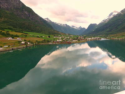 Photograph - The End Of The Fjord by John Potts