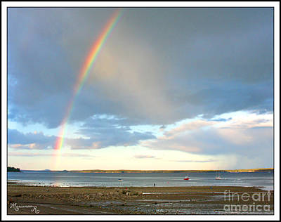 Photograph - The End Of The Rainbow by Mariarosa Rockefeller