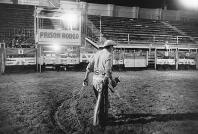Photograph - The End Of The Rodeo by Underwood Archives