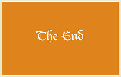 Digital Art - The End by Tania L
