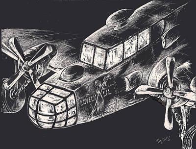 The Enforcer Art Print by Robert Tiritilli