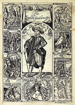 The English Gentleman, 1630 Print by British Library