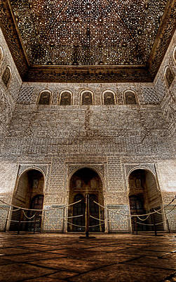 Photograph - The Engraved Hall by Weston Westmoreland