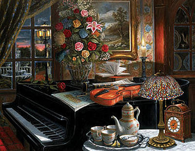 Hargrove Painting - The Ensemble by H Hargrove