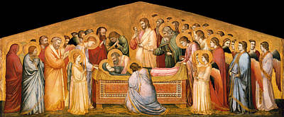 Christian Artwork Painting - The Entombment Of Mary by Mountain Dreams