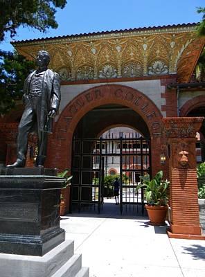 The Entrance Of Flagler College Original