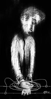 Digital Art - The Escape Artist by Jim Vance