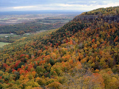 Photograph - The Escarpment by John Schneider