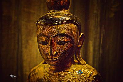 Buddha Painting - The Eternal Buddha by T Lang