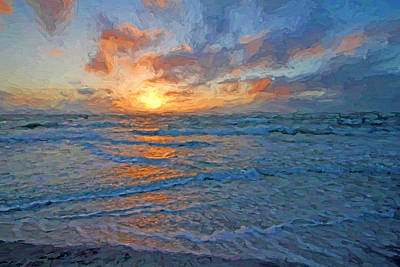 Photograph - The Eternal Sea by HH Photography of Florida
