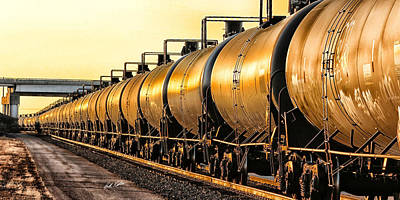 The Ethanol Train Art Print by Bill Kesler