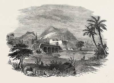 Vale Drawing - The Euphrates Valley Route To India Antioch by English School