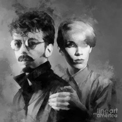 The Eurythmics Art Print by Paulette B Wright