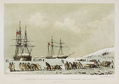 Hms Photograph - The Eventful Voyage Of H.m. Discovery by British Library