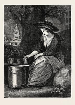 The Evictions At Milk Fair Art Print
