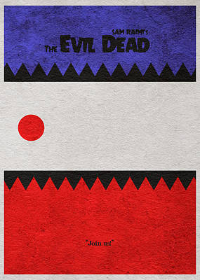 The Evil Dead Art Print by Ayse Deniz