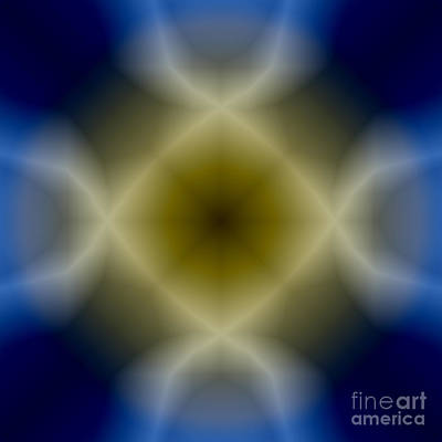 Digital Art - The Evolving Interior Abstract by Valerie Garner