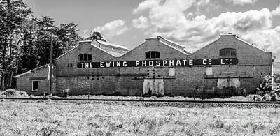 Photograph - The Ewing Phosphate Company by Nicholas Blackwell