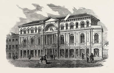The Exchange Drawing - The Exchange, Coventry, Uk by English School