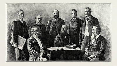 Forrest Drawing - The Executive Council Of Western Australia, 1889 Hon. J.g by Litz Collection