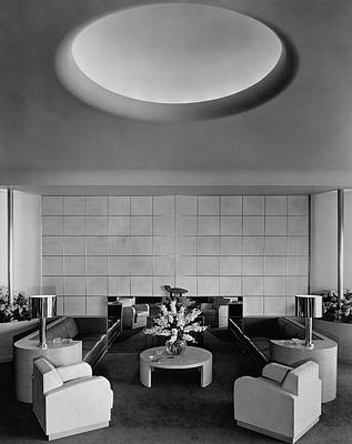 Photograph - The Executive Lounge At The Ford Exposition by Robert M. Damora