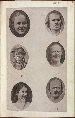 Portaits Photograph - The Expression Of The Emotions In Man And by British Library