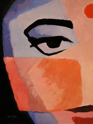 Painting - The Eye by Lutz Baar