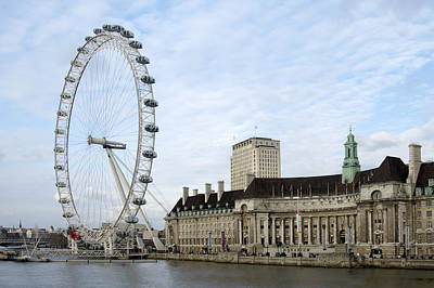 London Eye Digital Art - The Eye by Mike McGlothlen