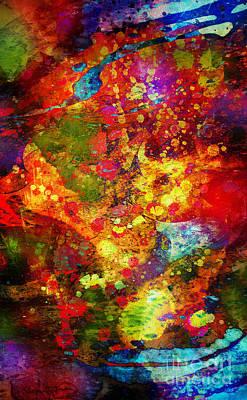 The Eye Of Craziness Art Print by Donika Nikova