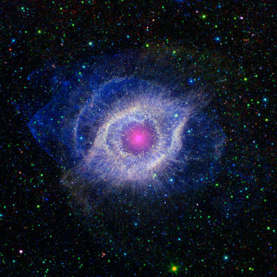 Cargo Boats Rights Managed Images - The Eye of God Royalty-Free Image by Nasa